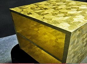 ARQUITETURA – REVESTIMENTOS METÁLICOS – GOLD METALLIC