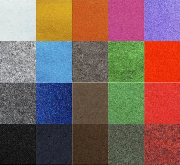 Carpete Forração Cores