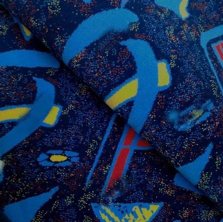 Navalhado Trilobit Azul/Vermelho